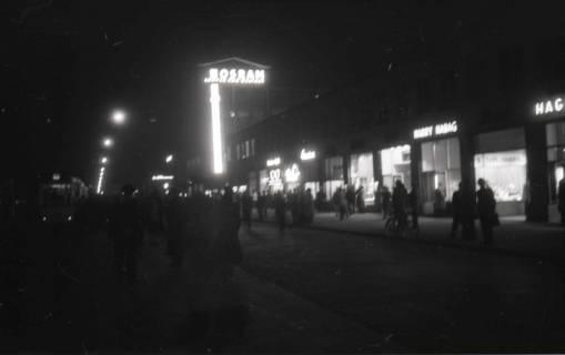 ARH NL Koberg 719, Kröpcke bei Nacht, Hannover, 1948