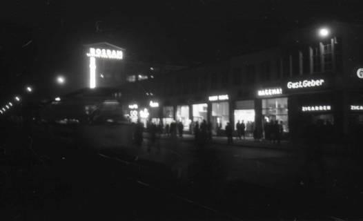 ARH NL Koberg 720, Kröpcke bei Nacht, Hannover, 1948