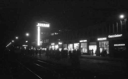 ARH NL Koberg 721, Kröpcke bei Nacht, Hannover, 1948
