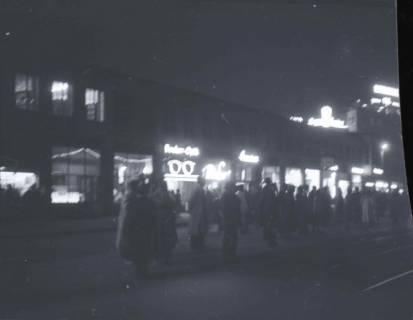ARH NL Koberg 722, Kröpcke bei Nacht, Hannover, 1948