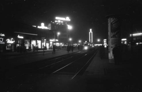 ARH NL Koberg 724, Kröpcke bei Nacht, Hannover, 1948