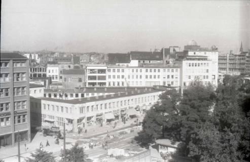 ARH NL Koberg 743, Blick von der Oper auf die Georgstraße, Hannover, nach 1948
