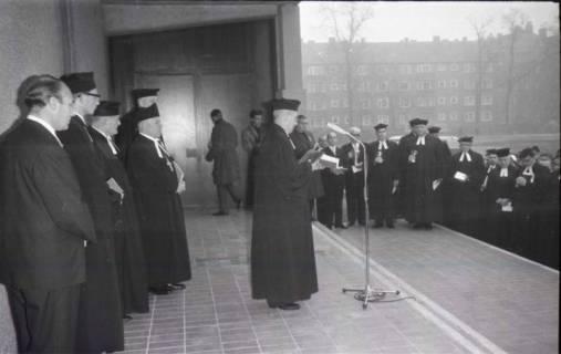 ARH NL Koberg 814, Einweihung der Gerhard-Uhlhorn-Kirche, Linden, 1964