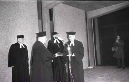 ARH NL Koberg 815, Einweihung der Gerhard-Uhlhorn-Kirche, Linden, 1964