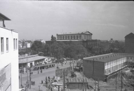 ARH NL Koberg 851, Blick via Kröpcke auf die Oper, Hannover, 1952