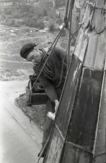 ARH NL Koberg 865, Reparatur der Apostelkirche am Welfenplatz, Hannover, 1952