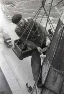 ARH NL Koberg 866, Reparatur der Apostelkirche am Welfenplatz, Hannover, 1952