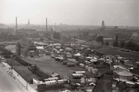 ARH NL Koberg 869, Blick von der Apostelkirche auf die Stadt, Hannover, 1952