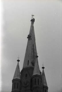 ARH NL Koberg 872, Reparatur der Apostelkirche am Welfenplatz, Hannover, 1952