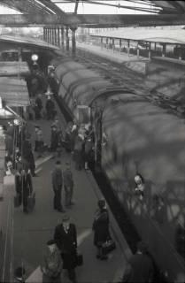 ARH NL Koberg 879, Bahnsteig am Hauptbahnhof, Hannover, 1952