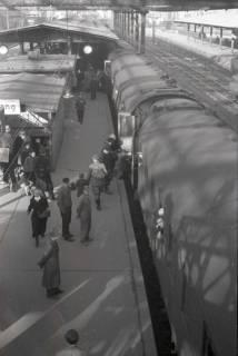 ARH NL Koberg 880, Bahnsteig am Hauptbahnhof, Hannover, 1952