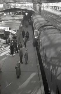 ARH NL Koberg 881, Bahnsteig am Hauptbahnhof, Hannover, 1952