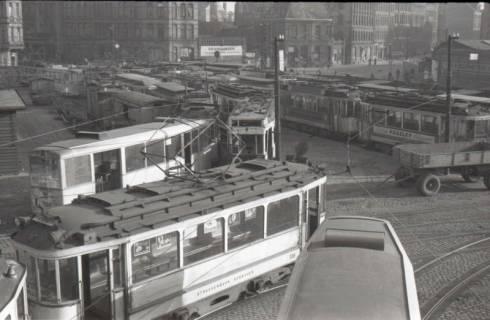 ARH NL Koberg 883, Straßenbahndepot Glocksee, Hannover, 1952