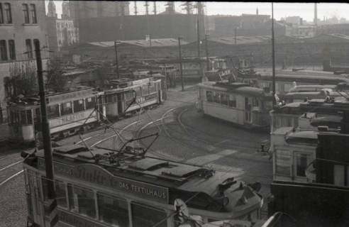 ARH NL Koberg 884, Straßenbahndepot Glocksee, Hannover, 1952