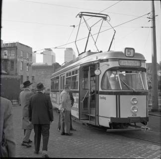 ARH NL Koberg 885, Neue Straßenbahntypen der Üstra, Hannover, 1963