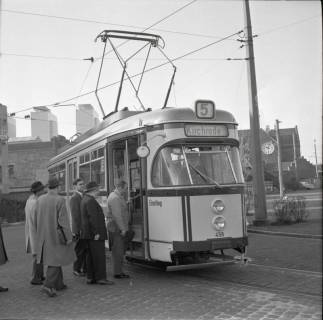 ARH NL Koberg 886, Neue Straßenbahntypen der Üstra, Hannover, 1963