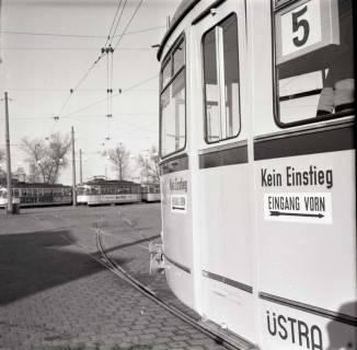 ARH NL Koberg 889, Neue Straßenbahntypen der Üstra, Hannover, 1963