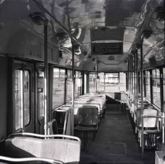 ARH NL Koberg 892, Neue Straßenbahntypen der Üstra, Hannover, 1963
