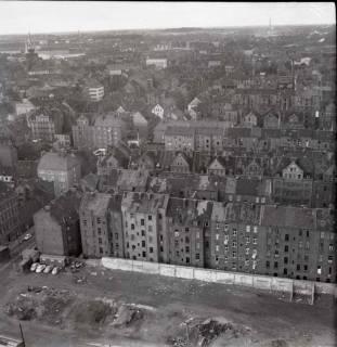 ARH NL Koberg 894, Blick vom Heizkraftwerk Linden auf Altlinden, Hannover, 1963