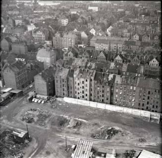 ARH NL Koberg 895, Blick vom Heizkraftwerk Linden auf Altlinden, Hannover, 1963