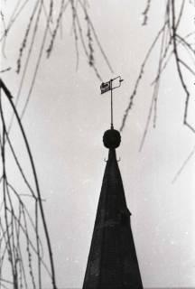 ARH NL Koberg 948, Kirchturm von St. Gertruden, Gleidingen , 1974