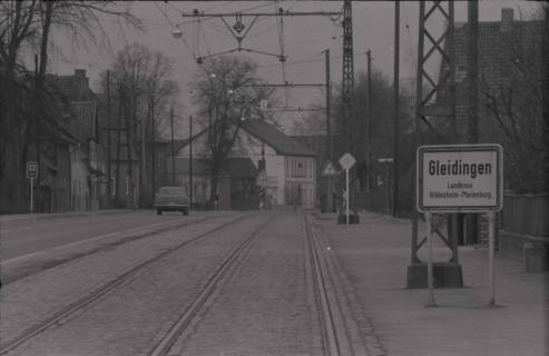ARH NL Koberg 970, Ortseingangsschild, Gleidingen, 1974