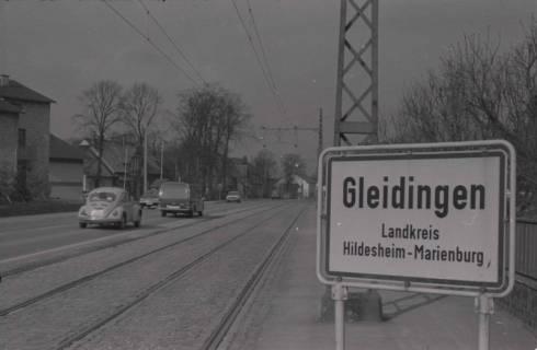 ARH NL Koberg 971, Ortseingangsschild, Gleidingen, 1974