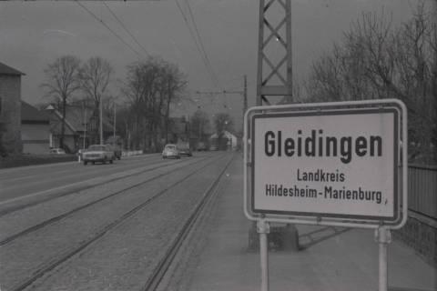ARH NL Koberg 972, Ortseingangsschild, Gleidingen, 1974