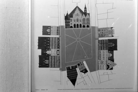 ARH NL Mellin 01-001/0007, Plan? Marktplatz Hildesheim, ohne Datum