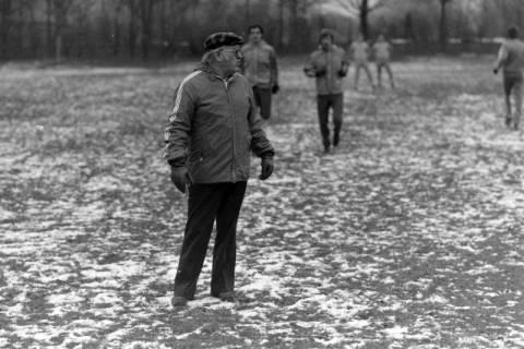 ARH NL Mellin 01-003/0008, Hannover 96? mit Trainer, zwischen 1974/1978