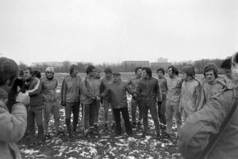 ARH NL Mellin 01-003/0013, Hannover 96 mit Trainer Helmut Kronsbein, zwischen 1974/1978