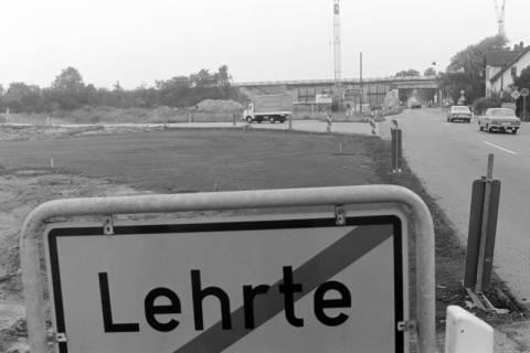 ARH NL Mellin 01-003/0025, Ortsausgang Lehrte, Anschlussstelle A 2, Erweiterung der Autobahnbrücke über die B 443, ohne Datum