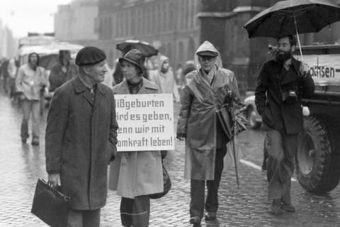ARH NL Mellin 01-004/0002, Anti-Atomkraft Demonstration gegen das Atommüllager Gorleben, 1976