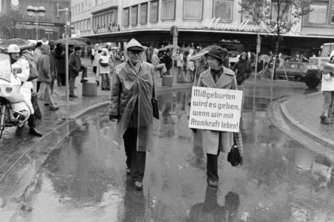 ARH NL Mellin 01-004/0003, Anti-Atomkraft Demonstration gegen das Atommüllager Gorleben, 1979