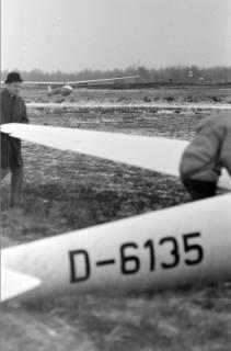 ARH NL Mellin 01-004/0019, Segelfluggelände Großes Moor des Luftsportverein Burgdorf, nach 1969