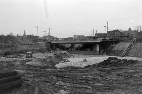 ARH NL Mellin 01-009/0013, Bau der B 443 Unterführung in Lehrte, zwischen 1970/1975