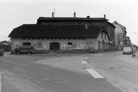 ARH NL Mellin 01-009/0015, Einmündung Poststraße in die Burgdorfer Straße in Lehrte, vor 1980