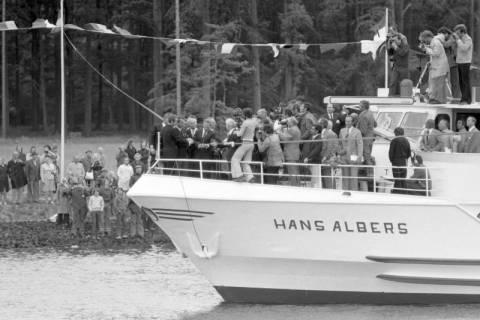 ARH NL Mellin 01-013/0001, Eröffnung des Elbe-Seitenkanals (ESK), 1976