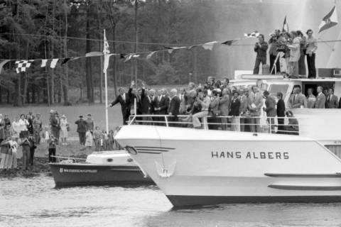 ARH NL Mellin 01-013/0002, Eröffnung des Elbe-Seitenkanals (ESK), 1976