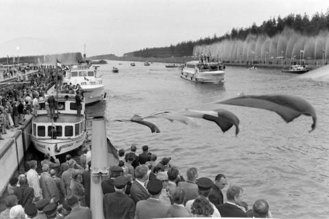 ARH NL Mellin 01-013/0003, Eröffnung des Elbe-Seitenkanals (ESK), 1976