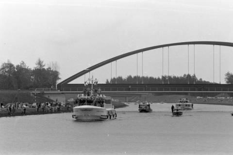 ARH NL Mellin 01-013/0007, Eröffnung des Elbe-Seitenkanals (ESK), 1976