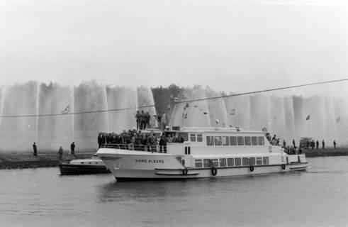 ARH NL Mellin 01-013/0008, Eröffnung des Elbe-Seitenkanals (ESK), 1976