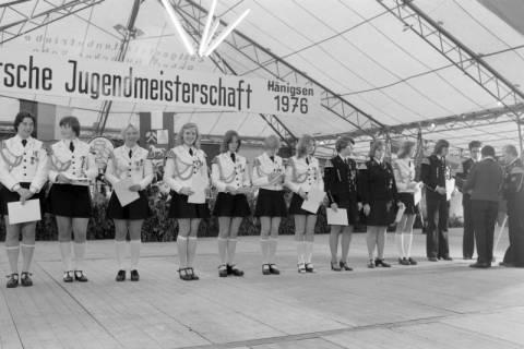 ARH NL Mellin 01-013/0009, 8. Deutsche Jugendmeisterschaft des Deutschen Bundesverbandes der Spielmanns-, Fanfaren-, Hörner und Musikzüge e. V., 1976