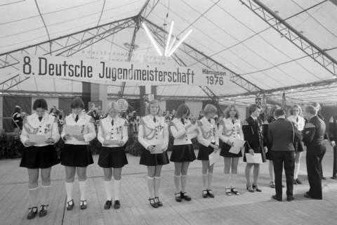 ARH NL Mellin 01-013/0010, 8. Deutsche Jugendmeisterschaft des Deutschen Bundesverbandes der Spielmanns-, Fanfaren-, Hörner und Musikzüge e. V., 1976
