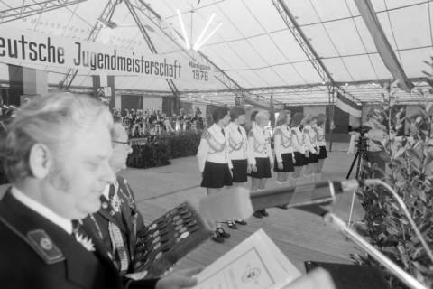 ARH NL Mellin 01-013/0011, 8. Deutsche Jugendmeisterschaft des Deutschen Bundesverbandes der Spielmanns-, Fanfaren-, Hörner und Musikzüge e. V., 1976