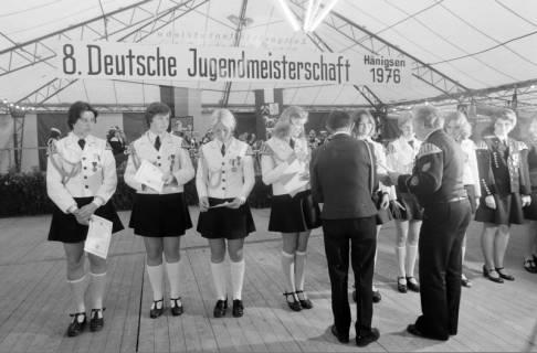 ARH NL Mellin 01-013/0012, 8. Deutsche Jugendmeisterschaft des Deutschen Bundesverbandes der Spielmanns-, Fanfaren-, Hörner und Musikzüge e. V., 1976