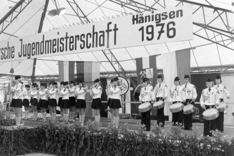 ARH NL Mellin 01-014/0001, 8. Deutsche Jugendmeisterschaft des Deutschen Bundesverbandes der Spielmanns-, Fanfaren-, Hörner und Musikzüge e. V., 1976