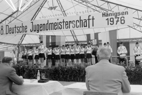 ARH NL Mellin 01-014/0002, 8. Deutsche Jugendmeisterschaft des Deutschen Bundesverbandes der Spielmanns-, Fanfaren-, Hörner und Musikzüge e. V., 1976