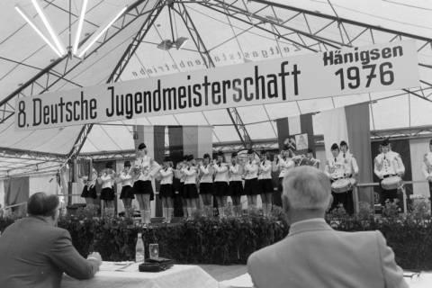 ARH NL Mellin 01-016/0009, 8. Deutsche Jugendmeisterschaft des Deutschen Bundesverbandes der Spielmanns-, Fanfaren-, Hörner und Musikzüge e. V., 1976