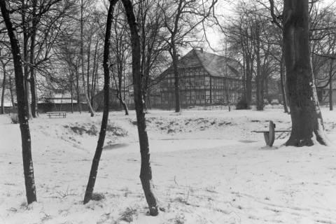 ARH NL Mellin 01-016/0017, Amtspark und Amtsgericht in Großburgwedel, ohne Datum